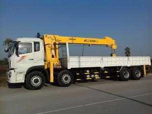 Bán xe tải thùng B170 Dongfeng hoàng huy 9,6 tấn