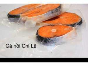 Cá hồi nhập khẩu Chi Lê