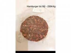 Patty Hamburger thượng hạng