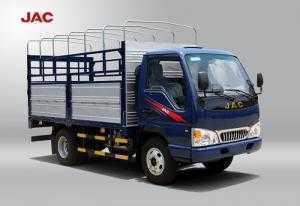 Xe jac 2t4,thùng dài 3m7.có máy lạnh.