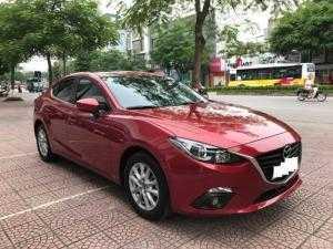 Mazda 3 sedan 1.5AT Sản xuất 2017, đăng ký tháng 03/2017 màu Đỏ