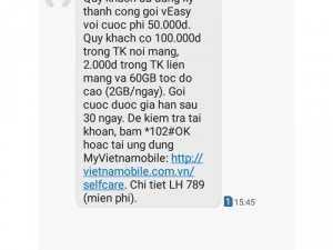 Sim CÁ HEO 63GB 3G tốc độ cao vietnamobi