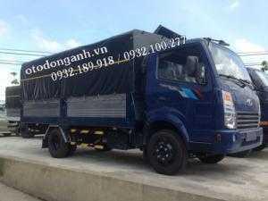 Xe tải Daehan 2t3 Teraco 230 vào thành phố hỗ trợ trả góp