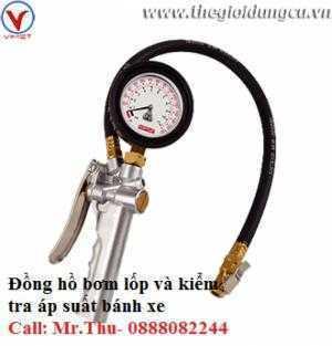 Đồng hồ bơm lốp và kiểm tra áp suất bánh xe...