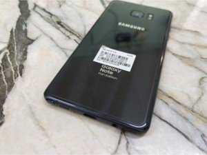 Samsung Note FE 2 sim màu đen