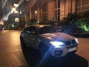 Bán BMW X6 at màu trắng 2009 đk 2010 biển tp bao chất.