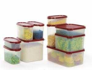 Hộp đựng thực phẩm, Tiết kiệm không gian tủ lạnh với Bộ Hộp Bảo Quản Thực Phẩm Phòng chống Ung thư  MM Kitchen Classic Big (10 hộp) -