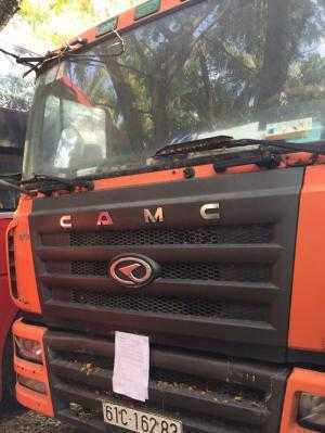 Xe Đầu kéo cũ camc 1 cầu máy wechai 250hp xe đời 2015