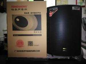 Loa kéo Temeisheng GD 15-19,thùng gỗ 600W, có bán trả góp