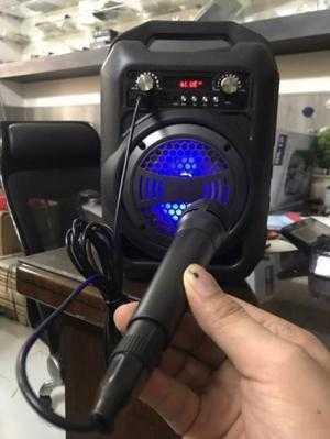 Loa Bluetooth BS12 + MIC Có dây