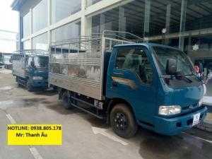 Giá xe tải kia 1t4,1t9, 2t4,Giá bán xe Kia 2t4, 1t25 chính hãng Trường Hải, vay ngân hàng.
