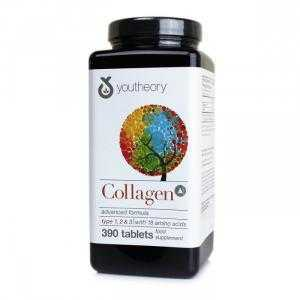 Viên Uống Đẹp Da Collagen Youtheory Advanced Formula Type 1,2,3 của Mỹ - 390 Viên