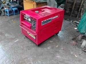 Máy phát điện nhật cũ 5Kva chạy dầu giá thanh lý tại Hà Nội