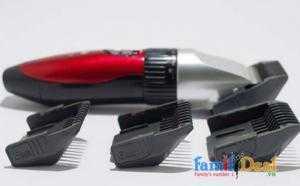 Bộ Tông Đơ Cắt Tóc Jichen Tặng kèm 2 kéo cắt kéo tỉa