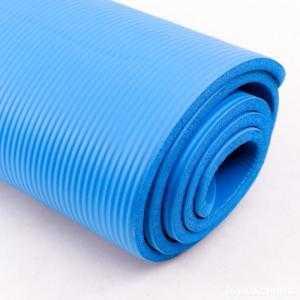 Thảm tập Yoga siêu bền loại dày 10mm TPE (Xanh)