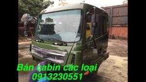 Bán cabin xe tải ben 8 tấn hoàng huy, trường giang, cuu long, jac, vinaxuki, howo, camc, Việt trung, thaco