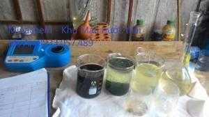 Hóa chất công nghiêp Khử màu nước thải dệt nhuộm hóa chất miền Nam