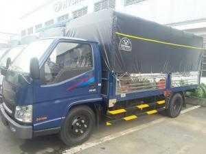 Giá xe tải IZ49 2.5 tấn thùng mui bạt - tất cả các thủ tục về phía ngân hàng công ty trực tiếp lo cho khách