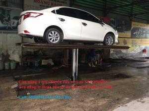 Trụ nâng ty Benz rửa xe du lịch và tải nhẹ 4...