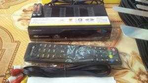 Trọn bộ đầu thu truyền hình mặt đất MS01 + Anten Tàu bay + 15 Mét dây