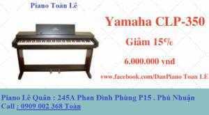 Đàn Piano Điện Yamaha CLP- 350
