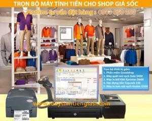 Máy tính tiền cho shop thời trang  giá rẻ tại Đà Nẵng