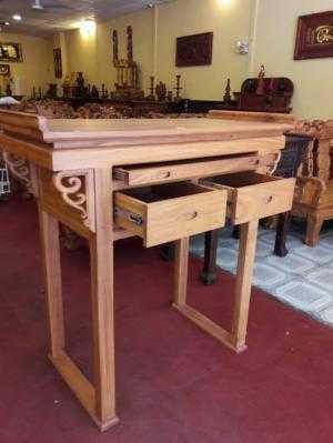 Bàn thờ bền đẹp gỗ tự nhiên -SD70
