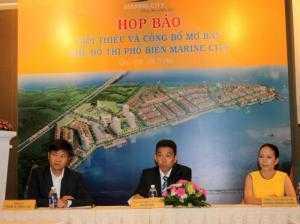 Cần sang gấp lô đất biệt thự dự án Marine City Vũng tàu chính chủ