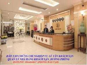 Học nghiệp vụ lễ tân khách sạn tại Cần thơ và các tỉnh/ đào tạo chứng chỉ