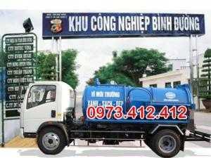 Rút hầm cầu KCN Bình Đường Bình Dương giá rẻ chuyên nghiệp