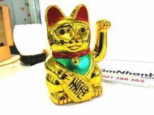 Mèo Thần Tài Chạy Pin Kích Thước 15x8x7 cm - MSN1831070