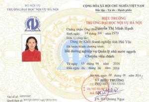 Lớp bồi dưỡng quản lý nhà nước ngạch chuyên viên chính tại Hà Nội