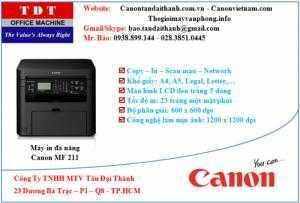 Máy in đa chức năng Canon MF 211 giá rẻ hàng chính hãng Canon
