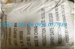 NaCl muối công nghiệp Trung Quốc