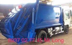 xe Hino chở rác 9 khối , xe Hino FC9JETA chở rác , xe Hino fc chở rác , xe chở rác 6 tấn , xe Hino 6t2 chở rác , xe Hino chở rác thùng 8 khối , Xe ép rác 8 khối