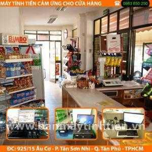 Lắp đặt máy tính tiền cho cửa hàng tự chọn tại Đà Nẵng