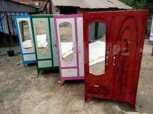 Tủ sắt quần áo giá rẻ 1m6x90