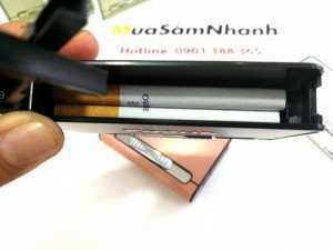 Hộp đựng thuốc lá kiêm bật lửa hình bao thuốc...