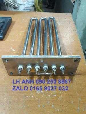 Điện trở đun nước mặt pích 190 x70 x5.3 u x 345/10 kw.