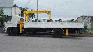 Xe tải cẩu 5 tấn
