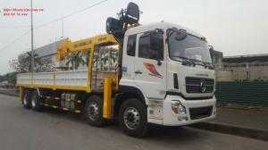 Xe tải cẩu 10 tấn