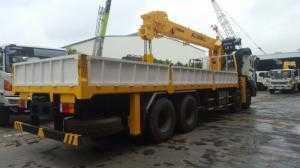 xe tải cẩu hyundai 10 tấn - HD360/SCS1015
