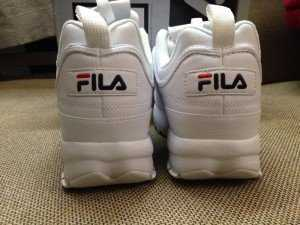 Fila all white rep 1:1