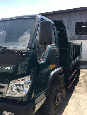 Giá xe Ben 4,9 tấn thaco Trường Hải, thùng 4,1 khối, phanh hơi, giá xe tải ben Long An, Nhà Bè, Củ Chi.