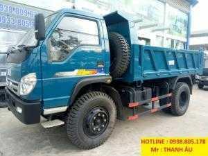 Giá xe ben THACO BEN Trường Hải FLD600Cphanh hơi, tải trọng 6tấn thùng 4,9 khối. Trả 150tr nhận xe.