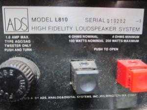 Loa ADS L810 (Made In USA)