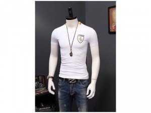 Áo thun ngắn tay thời trang nam logo con ngựa