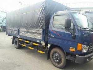 Xe tải Hyundai HD99 6.5 tấn thùng mui bạt - Xe có sẵn giao xe ngay , đóng thùng inox hoặc nhôm theo yêu cầu khách hàng