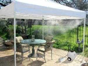 Lắp máy phun sương quận Tân Phú giải nhiệt hiệu quả