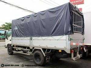Đại lý xe tải Hino 4.5 tấn/3,5 tấn/3.5 tấn thùng dài 5m Chính Hãng- Hỗ trợ vay vốn 90%